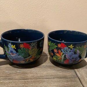 Set of two Disney stitch soup bowls BRAND NEW